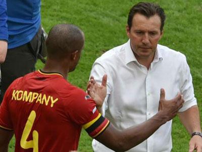比利时队长孔帕尼因伤错过了欧洲杯,而球队主教练威尔莫茨必须要计划