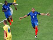 比赛集锦:法国 2-1 罗马尼亚