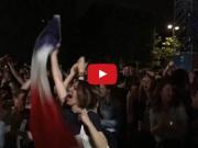 帕耶打进世界波时,整座城市的法国球迷沸腾了