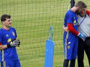不理会外界传闻,德赫亚专心备战欧洲杯