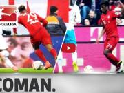 德甲官方评选:科曼本赛季的五大高光时刻