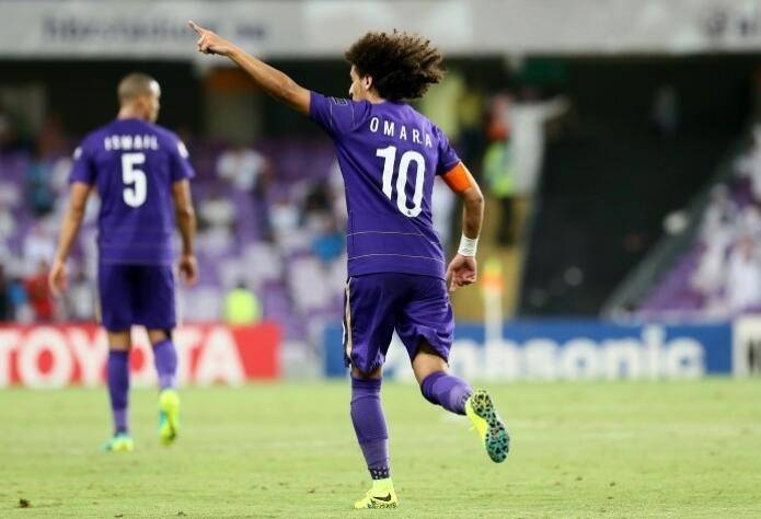 阿尔艾因3-1阿尔贾希占亚冠晋级先机,奥马尔传