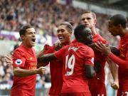 利物浦客场2-1逆转斯旺西取四连胜,米尔纳84分钟点球绝杀