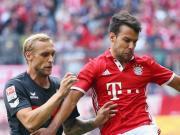 拜仁1-1科隆联赛五连胜终结,基米希破门,哈马、穆勒中框
