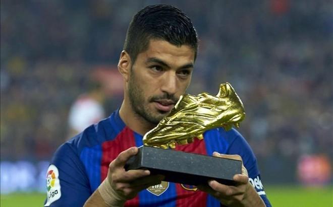 苏亚雷斯:在利物浦赢得的欧洲金靴奖含金量更