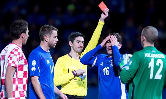 冰岛胜利后庆祝