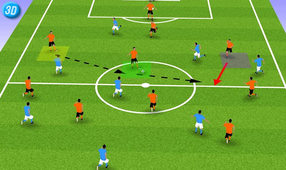 一刻足球3D训练教案第二十八期 A.OK进球实战图片