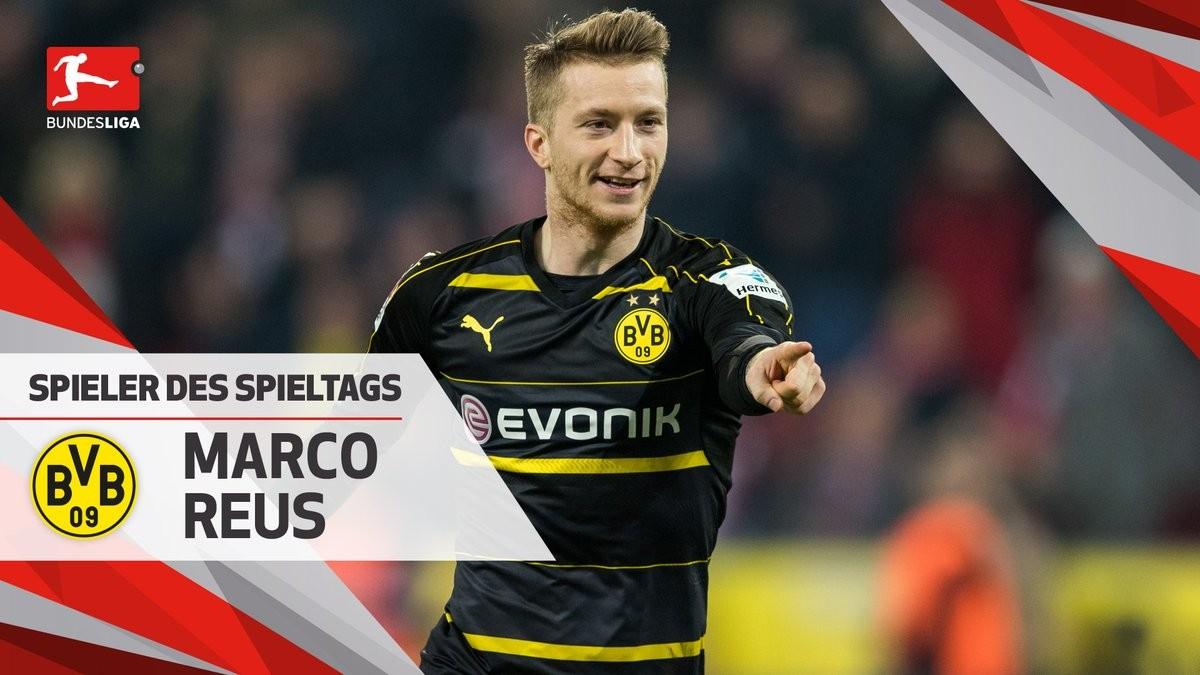 德甲第14轮最佳球员:罗伊斯 - 足球第一门户|懂