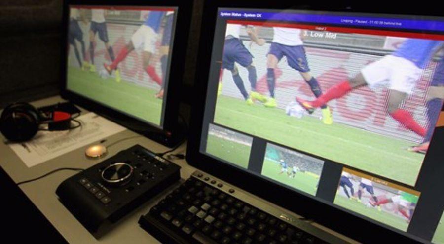 当录像回放遇上足球比赛 - 足球视频|足球视频集