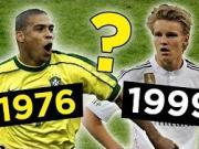 从1970至2000年,每个年份出生的最佳球员