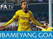 欧足联官方盘点:奥巴梅扬的Top5欧战进球