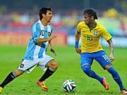 南美双杰,梅西和内马尔在国家队的过人技巧