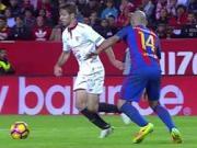 脚下细腻,2016年西甲联赛最具观赏性的技巧