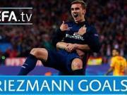 法国小天王,格列兹曼在欧战赛场的Top5进球