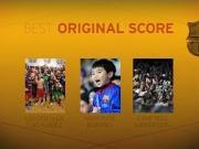 巴萨奥斯卡最佳配乐提名:苏牙金靴之歌&日本小球迷合唱队歌