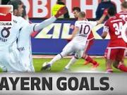 战斗到最后,拜仁本赛季德甲最后时刻进球合辑
