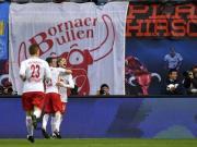 RB莱比锡3-1科隆,维尔纳传射建功,福斯贝里破门
