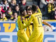 多特3-0客胜取联赛两连胜,奥巴梅扬梅开二度,帕帕建功