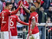 拜仁8-0狂胜汉堡,莱万戴帽,穆勒造三球,科曼替补梅开二度