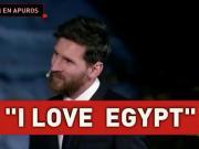 用英语说我爱埃及?梅西婉拒