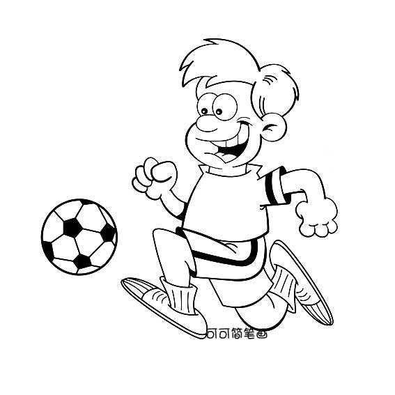 快乐足球漫画海报设计模板源文件宣传活动设计