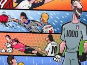 足球漫画:布冯的1000场比赛与巴塞罗那的诱惑