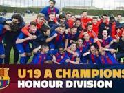比赛集锦:巴萨U19队 1-1 科尔内拉