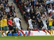 比赛集锦:英格兰 2-0 立陶宛