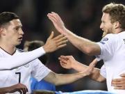 比赛集锦:阿塞拜疆 1-4 德国