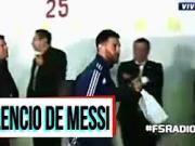 阿根廷输球,梅西沉默不语离开更衣室