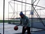 技术娴熟,波多尔斯基篮球水平不输足球