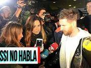 梅西抵达巴塞罗那,拒绝回答禁赛问题