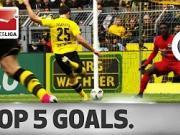 德甲第29轮五佳球:罗伊斯复出后首球领衔