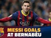 巴萨官方盘点:梅西做客伯纳乌的最佳联赛进球