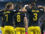 比赛集锦:西班牙人 0-1 马德里竞技