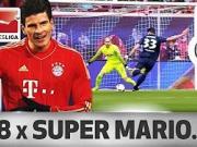 超级马里奥,戈麦斯vs德甲18队的最佳进球