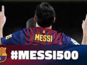 梅西实现了巴萨500球,你们还记得他的第一球吗?