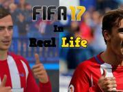 相差无几,FIFA17与现实中的庆祝动作对比