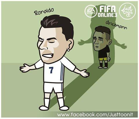 足球漫画:C罗连续两场欧冠v足球上演帽子戏法,的漫画暴走熊图片