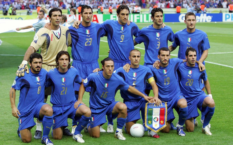 追忆那一抹蓝 2006年世界杯冠军意大利图片