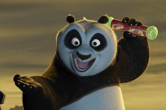 """""""熊猫""""等小动物亲密互动"""