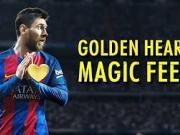 梅西令人敬佩的不只是他的球技,还有球品!