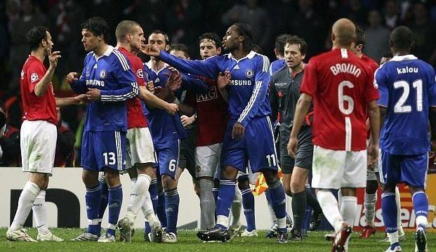 莫斯科之夜:2008年欧冠决赛,曼联vs切尔西图片