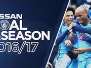 曼城本赛季最佳进球候选:阿圭罗、斯特林和孔帕尼入围