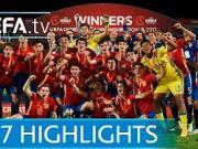 欧青赛决赛回顾:西班牙U17补时扳平,点球击败英格兰