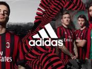 AC米兰2017-18赛季全新主场球衣发布!