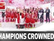 专属队长的荣耀,重温拜仁夺冠庆典拉姆捧杯