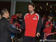 22日科隆足球俱乐部正式开始他们的沈阳之行