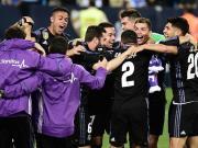 我们是冠军!重温皇马获得西甲冠军后的激情庆祝