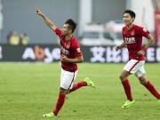 比赛集锦:广州恒大淘宝 2-0 重庆当代力帆